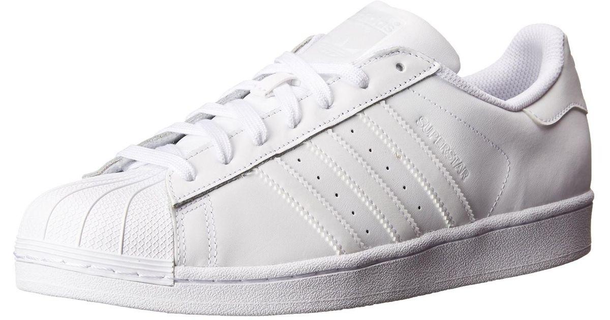 lyst adidas originals s85139: superstar turnschuhe, weiße (10 b (m