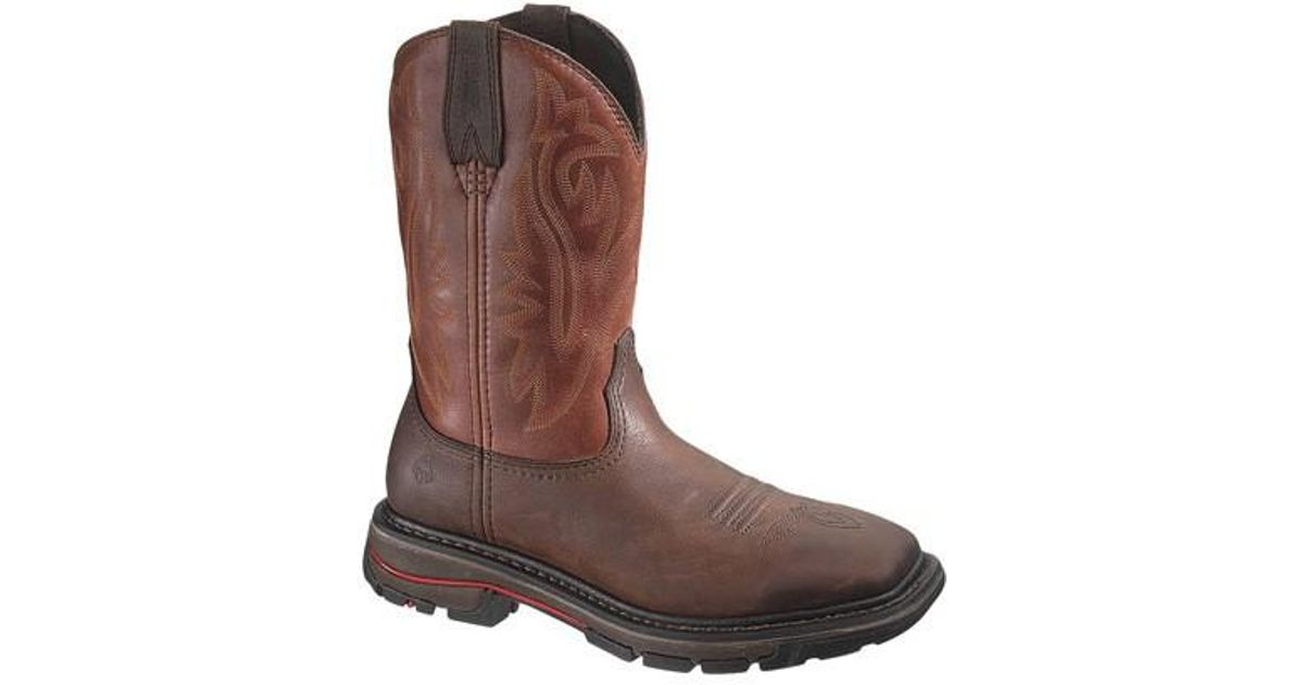 b7da3ed9714 Wolverine - Brown Javelina Western Wellington Boot for Men - Lyst