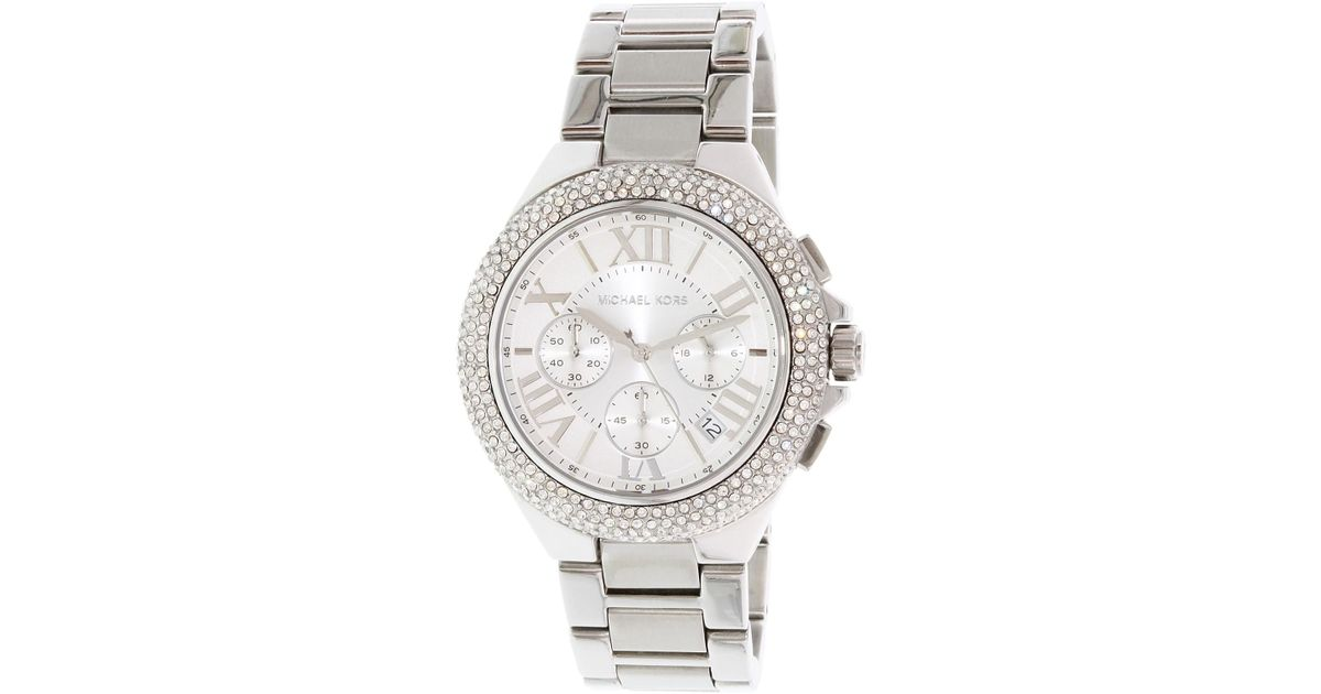 185c20985705 Lyst - Michael Kors Mk5634 Camille Watch in Metallic