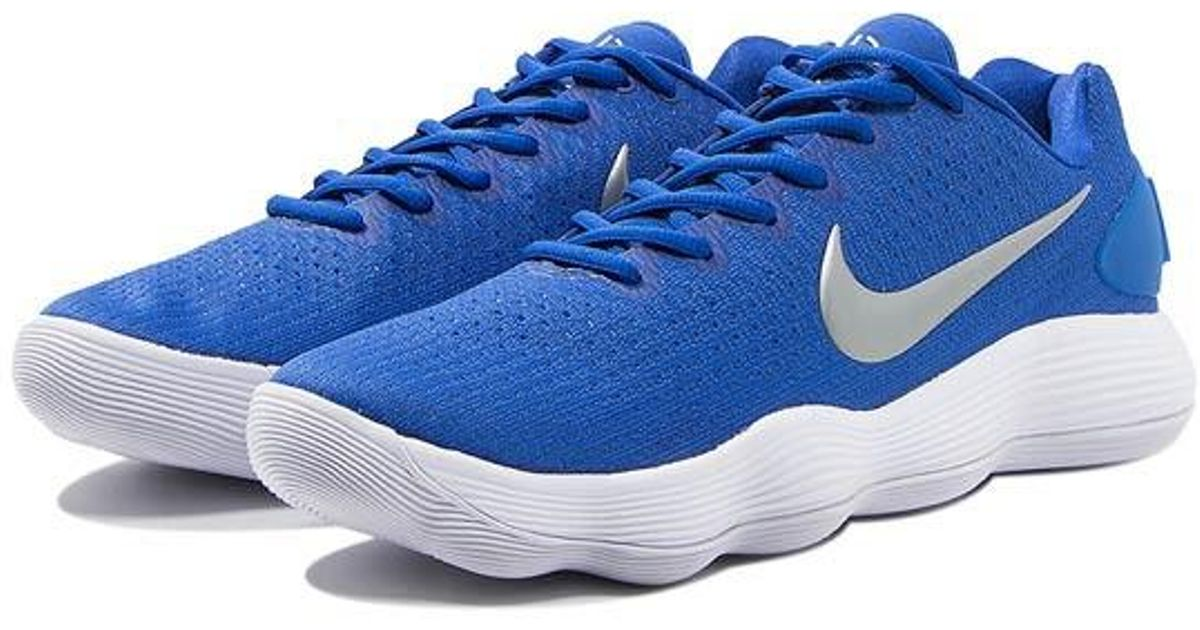 27ad7e1cfbed ... buy lyst nike hyperdunk 2017 low tb in blue for men fc56b aec8e