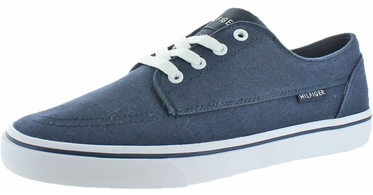 c972938f52453 Lyst - Tommy Hilfiger Payton Canvas Fashion Sneakers Shoes in Blue for Men