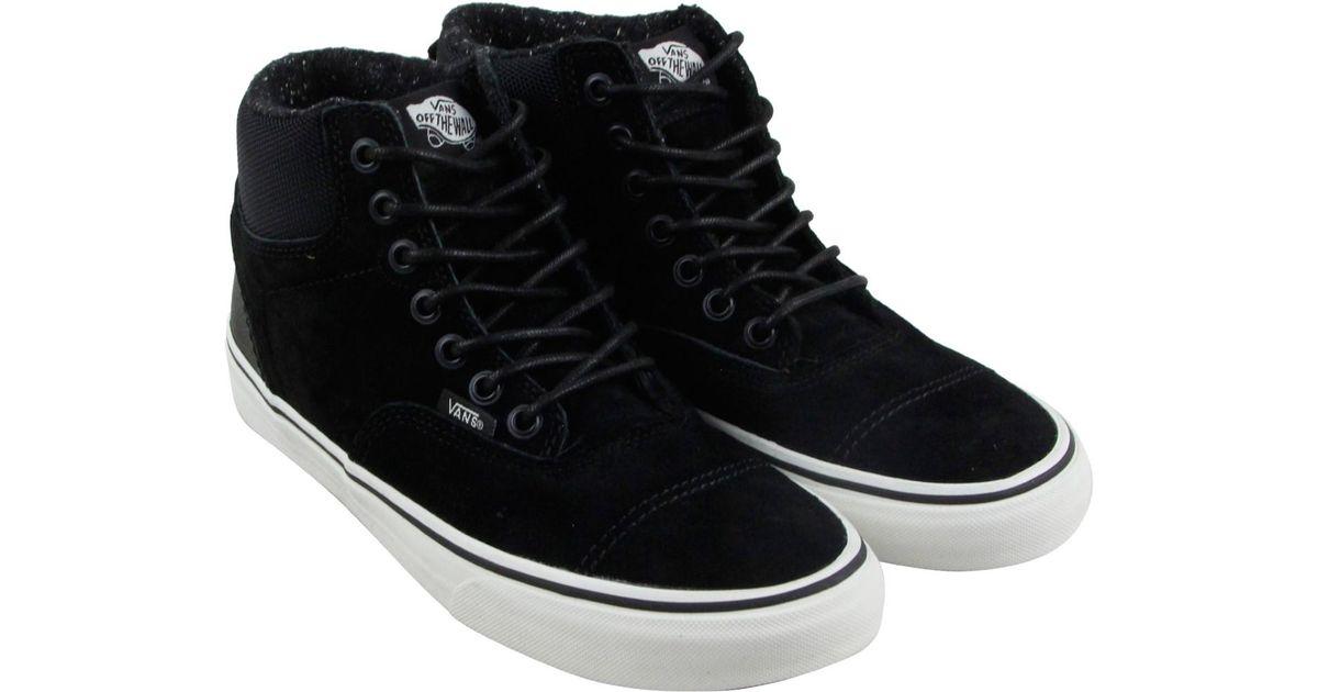 a37896fdae Lyst - Vans Era Hi Blanc De Blanc High Top Sneakers in Black for Men