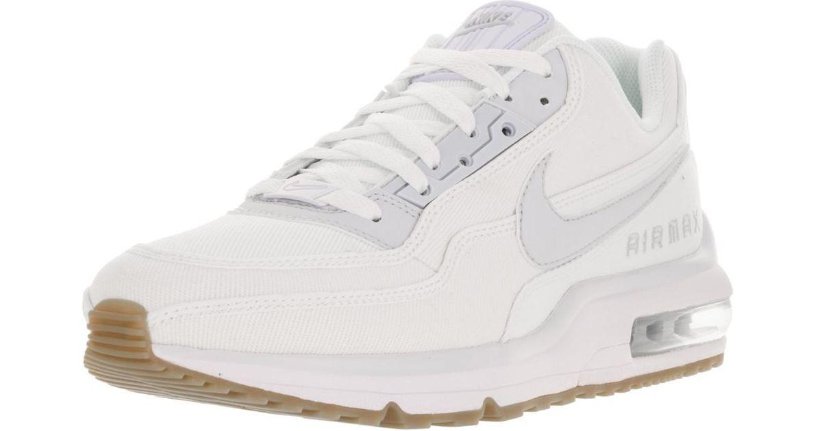 ce6ccb9e15719b Lyst - Nike 746379-121   Air Max Ltd 3 White platinum Running Shoe (8 D(m)  Us in White for Men