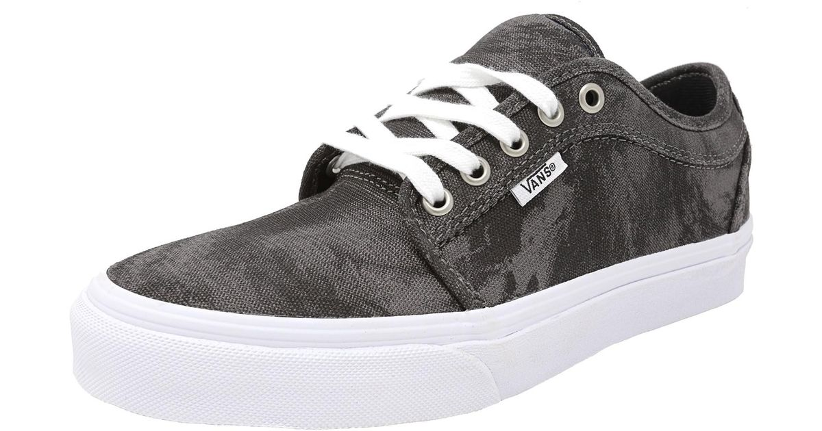 d0d77c2b09 Lyst - Vans Chukka Low Cyclone Ankle-high Canvas Skateboarding Shoe - 7m in  Black for Men