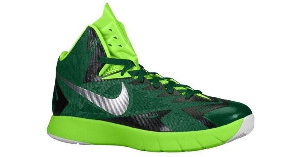 edf978db8d44 Lyst - Nike Lunar Hyperquickness Tb 652775 303 in Green for Men