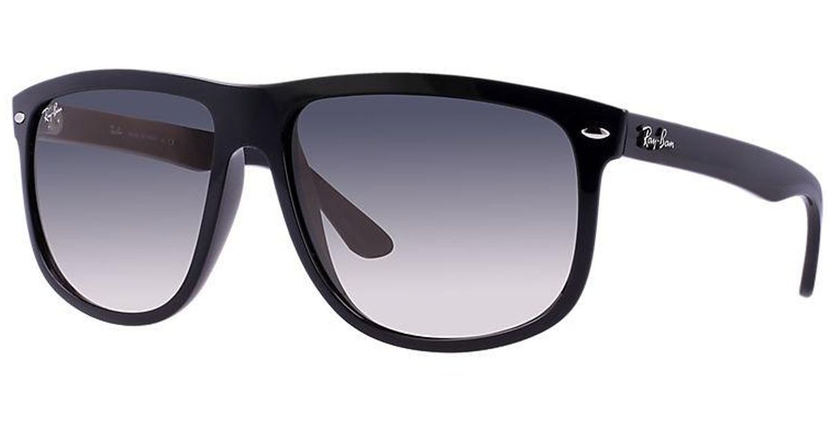 fb7a5417120 Lyst - Ray-Ban Gradient Rb4147 Rb4147-601 32-56 Black Square Sunglasses in  Gray for Men