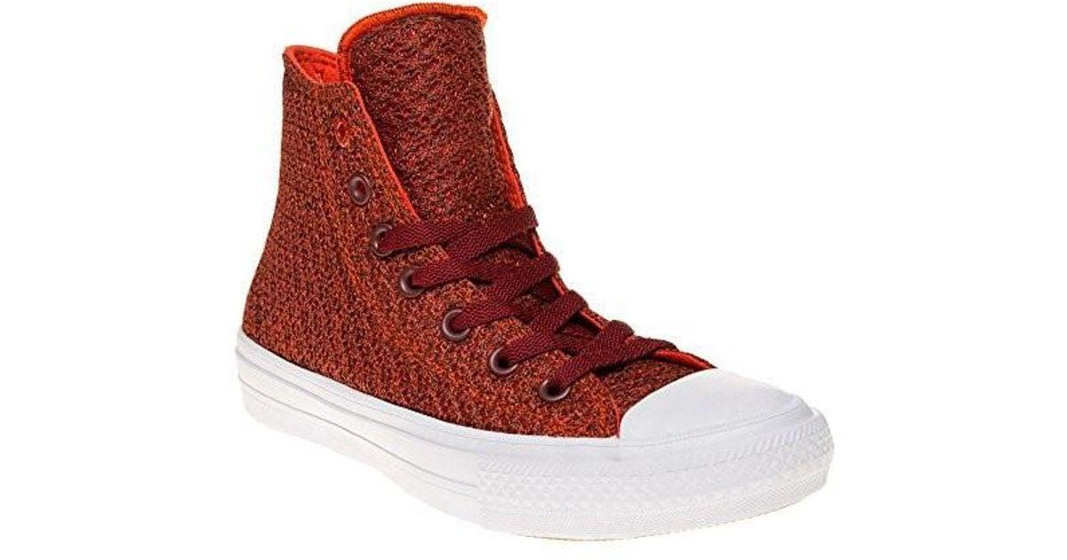 Lyst - Converse Unisex Chuck Taylor All Star Ii Hi Canvas Fashion Sneaker 4  Men Us   6 Women Us for Men 9bceb3f822ed
