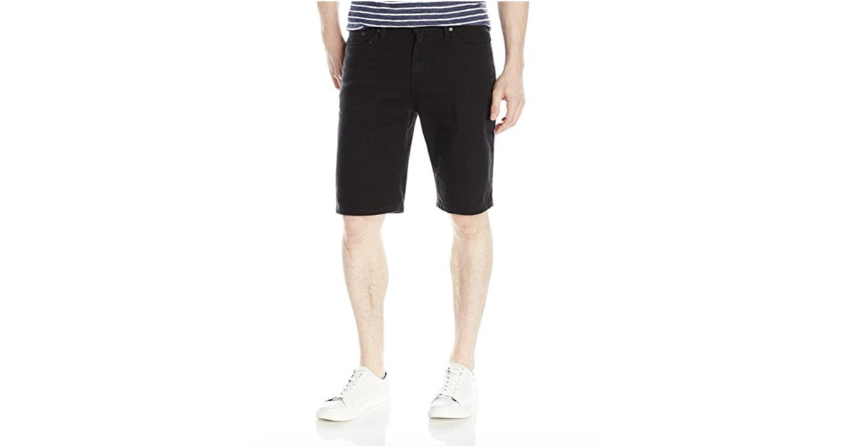 a8c1a5ae2a Levi's 541 Athletic Fit Short in Black for Men - Lyst
