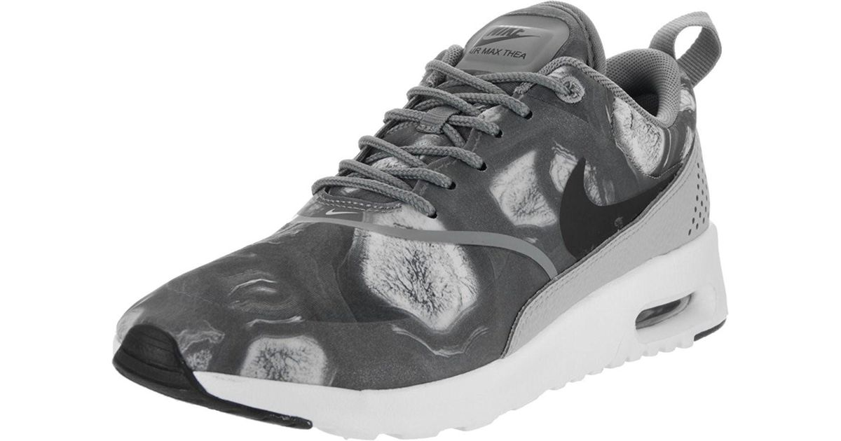 Nike Damen WMNS Air Max Thea Print Sneaker WhiteWolf Grey