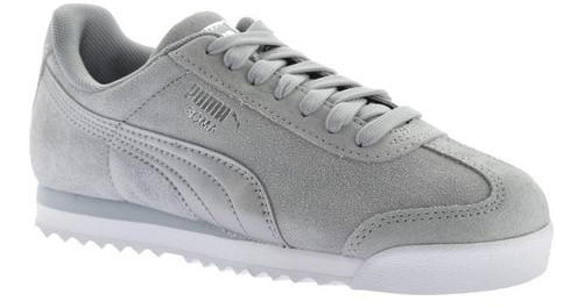 54a845ed78d8 Lyst - PUMA Roma Classic Met Safari Sneaker in Gray