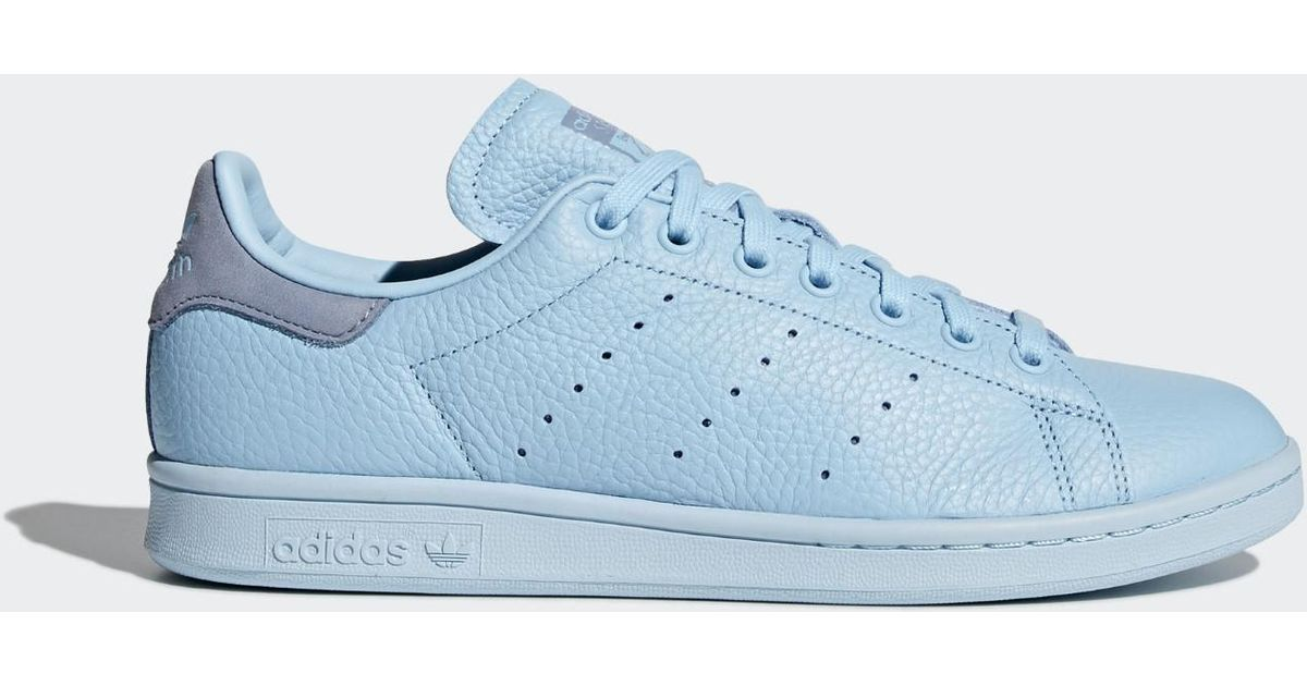 official photos 0ab18 6fb60 Adidas - Blue Stan Smith Shoes - Lyst