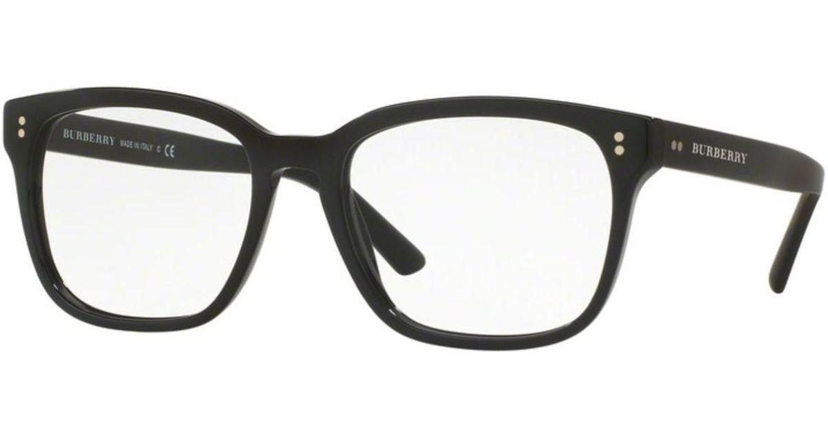 f63c3c522ae8 Lyst - Burberry Eyeglasses Be 2225f 3001 Black in Black for Men