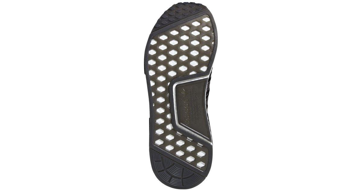 e66dcec8d8494 Lyst - Adidas Nmd r1 Stlt Primeknit Originals Running Shoe in Black for Men