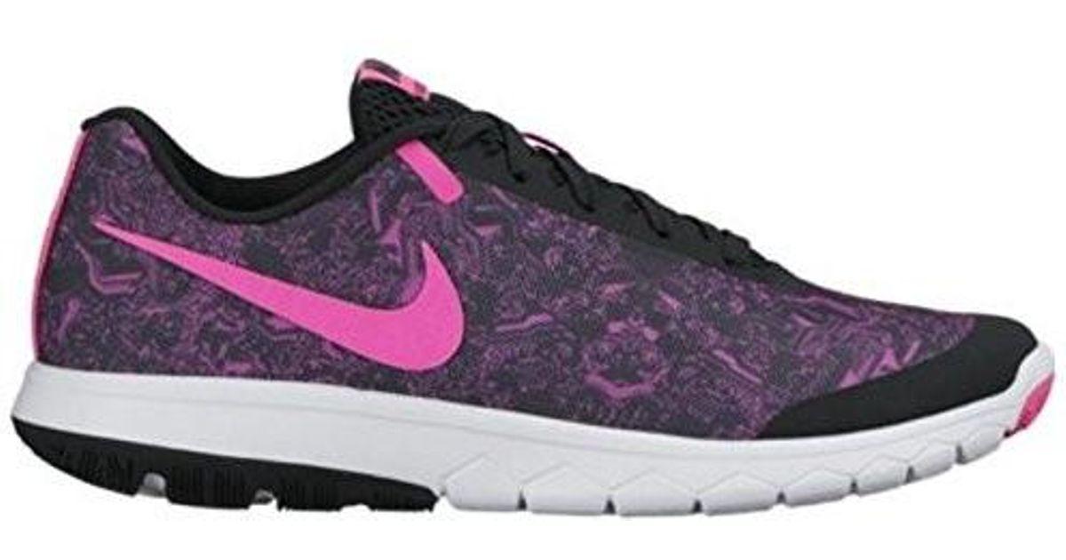 3ee0cda90901 Lyst - Nike 844673-003  Flex Experience Rn 5 Women Running Shoes Black-pink  (black in Black