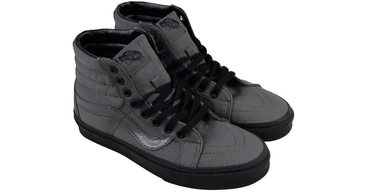 Lyst - Vans Unisex Sk8-hi Reissue (black Gum) Pewter blk Skate Shoe 5.5 Men  Us   7 Women Us in Black for Men 6451635173