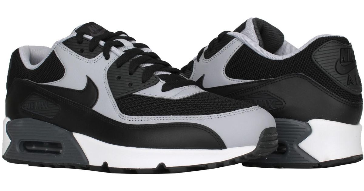 watch af47a 98ad2 Nike Air Max 90 Essential Running Shoes 537384-053 Sz 8 in Gray for Men -  Lyst