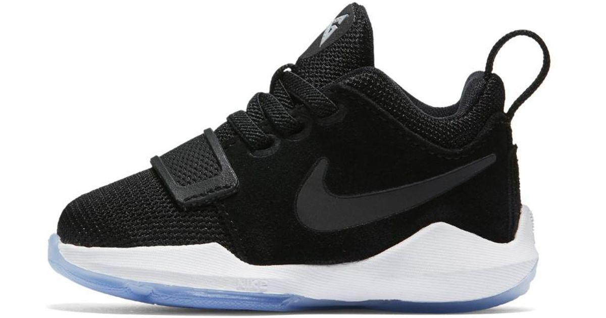 buy online f5eff 9d4f0 Nike - Black Boys Pg 1 (td) 881937-001 Size 8c - Lyst