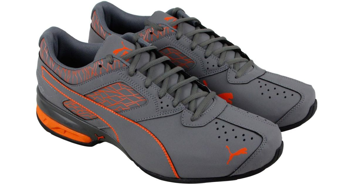 newest 8a70a a1b8d Lyst - PUMA Tazon 6 Fracture Fm Quiet Shade Vibrant Orange Athletic Running  Shoes in Gray for Men