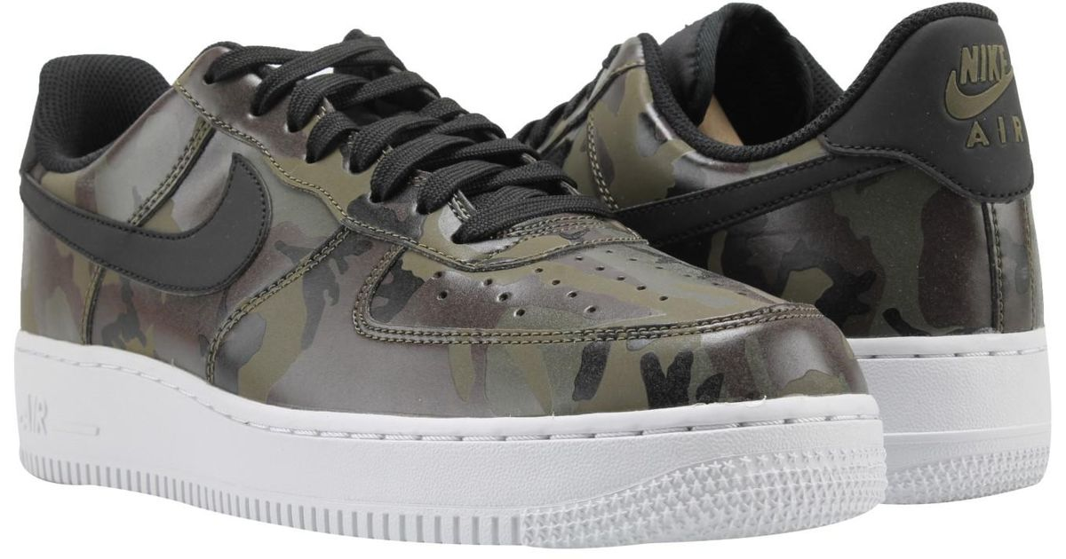 12f09ab58a8cb Lyst - Nike Air Force 1 07 Lv8 Medium Olive Camo Basketball Shoe for Men