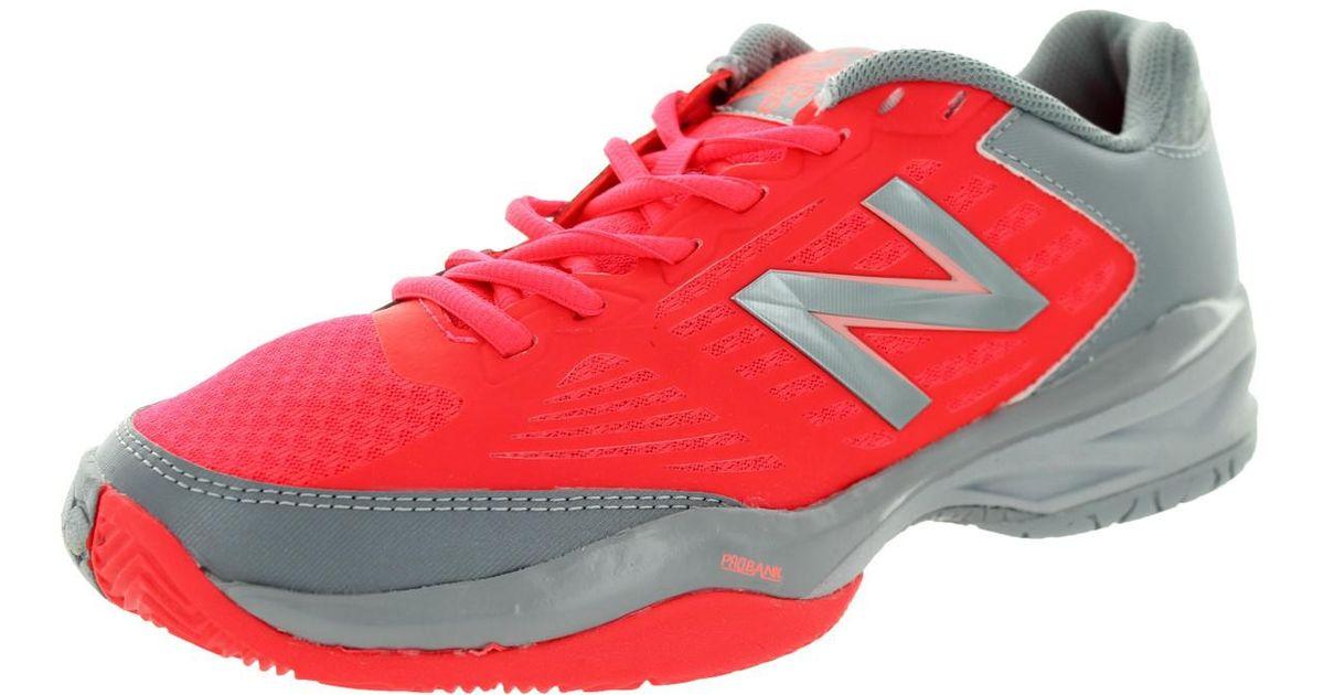 New Balance 896 Coral Pinkgrey Tennis Shoe 9.5 Women Us Lyst