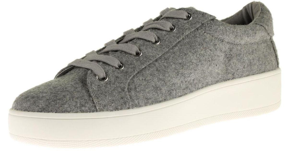 849f215f406 Lyst - Steve Madden Bertie-f Flannel Platform Fashion Sneakers in Gray