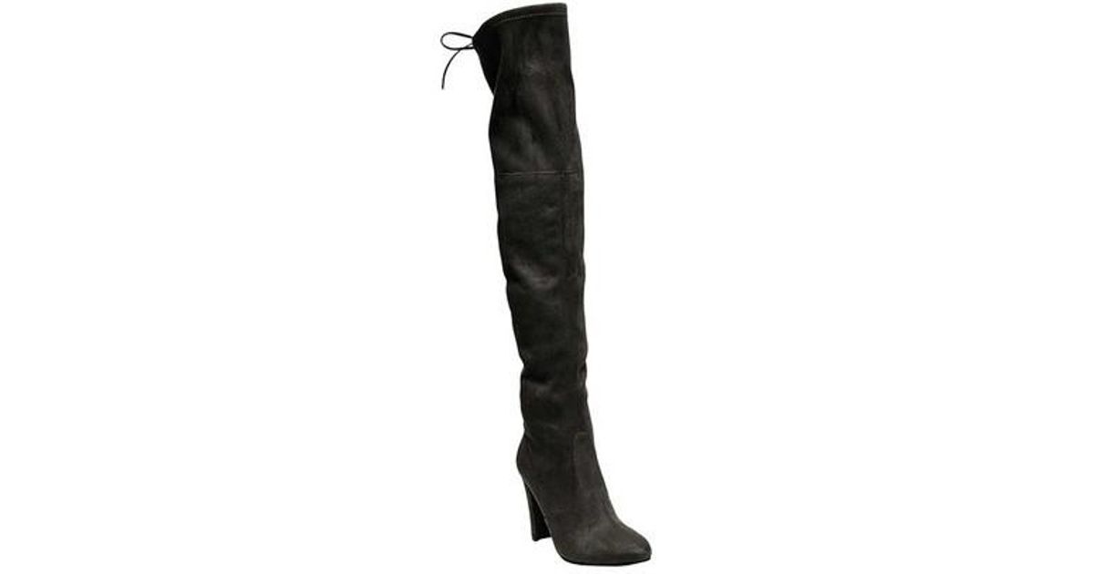 f2c2d8dcc1d Steve Madden - Black Gorgeous Over The Knee Boot - Lyst