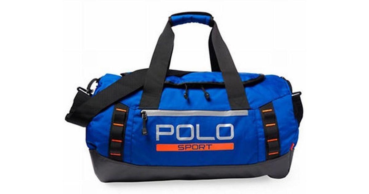 ... brand new 1cc50 27a05 Lyst - Polo Ralph Lauren Sapphire Star Blue Sport Duffle  Gym Bag ... 04c65c600e