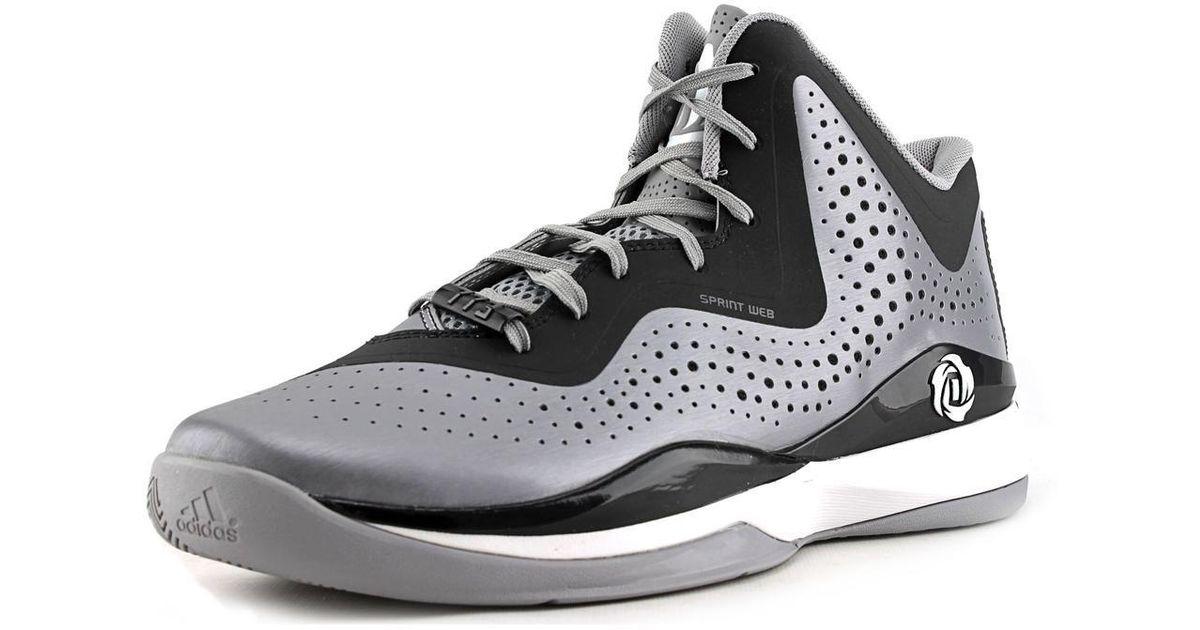 buy popular b6ace fdefa Lyst - adidas D Rose 773 Iii Men Us 9.5 Gray Sneakers in Black for Men