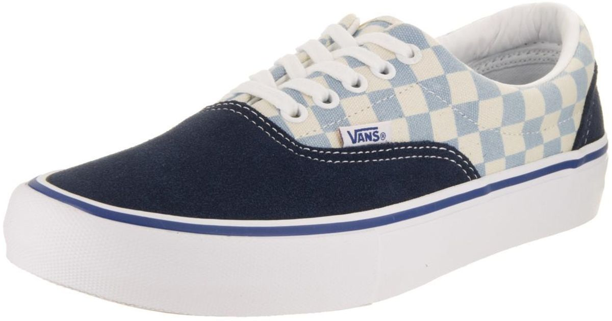c3f9a87958 Lyst - Vans Era Pro (checkerboard) Dress Blue Skate Shoe 9 Men Us in Blue  for Men