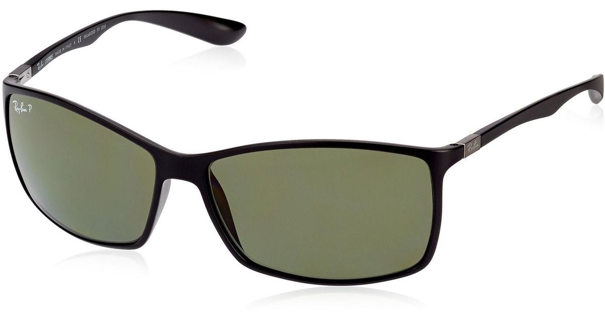 13a8cbd59da Lyst - Ray-Ban 0rb4179 601s9a 62 Matte Black dark Green Polar Liteforce  Tech Sunglasses in Green for Men