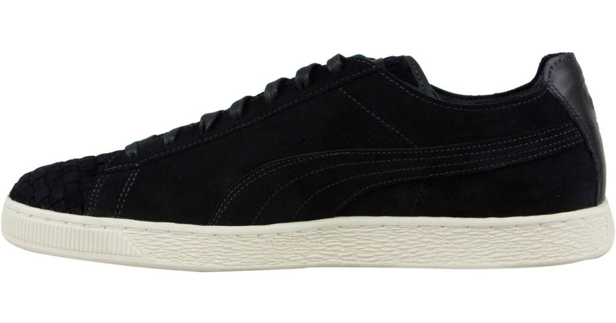 Lyst - PUMA Sf Ls Moonless Night Whisper White Lace Up Sneakers in Black  for Men 928d0050c