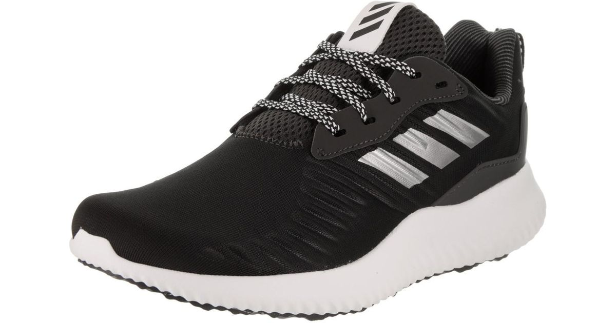 7fc728e56a53b Lyst - adidas Originals Alphabounce Rc Black silver white Running Shoe 7  Women Us in Black
