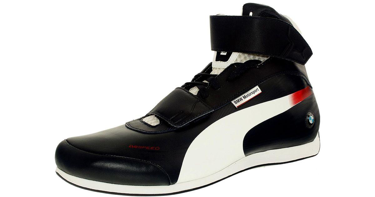 ec30c2a35fd1ea ... Lyst - Puma Evospeed Mid Bmw 1.2 Bmw Team Blue-white Ankle-high Leather  ...