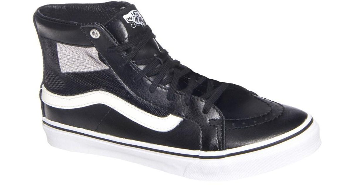 1f5a0d90dd Lyst - Vans Sk8-hi Slim Cutout High Top Sneaker in Black for Men