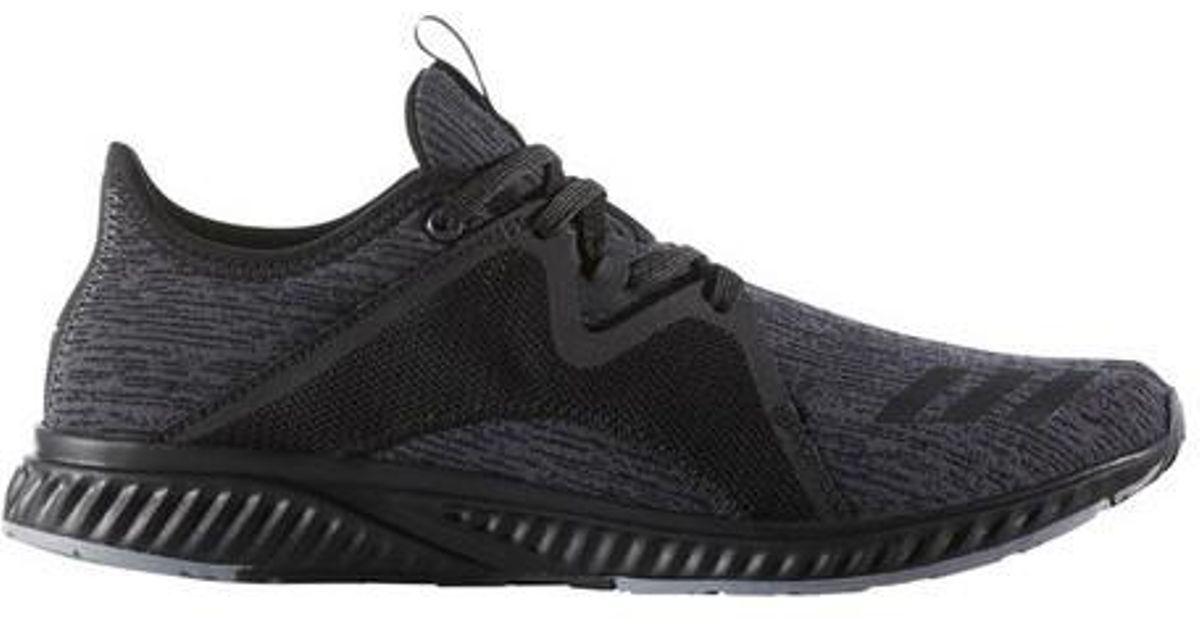 lyst adidas edge lux 2 scarpa da corsa in nero per gli uomini.