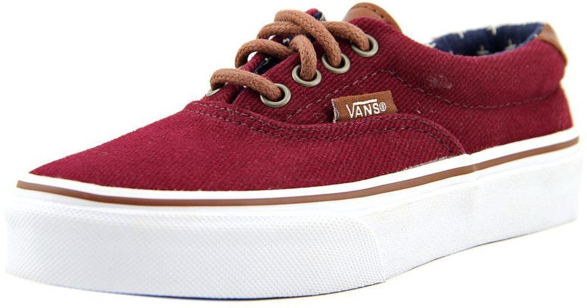 3dc89aa9e0 Lyst - Vans Era 59 Youth Us 11 Burgundy Skate Shoe for Men