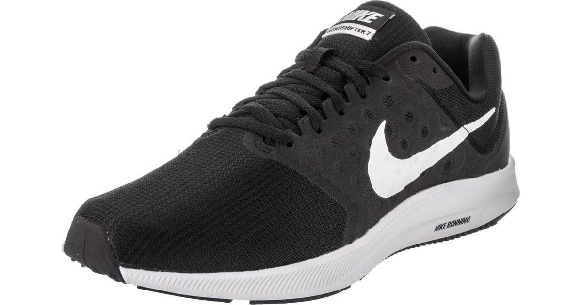6a18e0d2f3f9 Lyst - Nike Downshifter 7 Black white anthracite Running Shoe 9 Men Us in  Black for Men