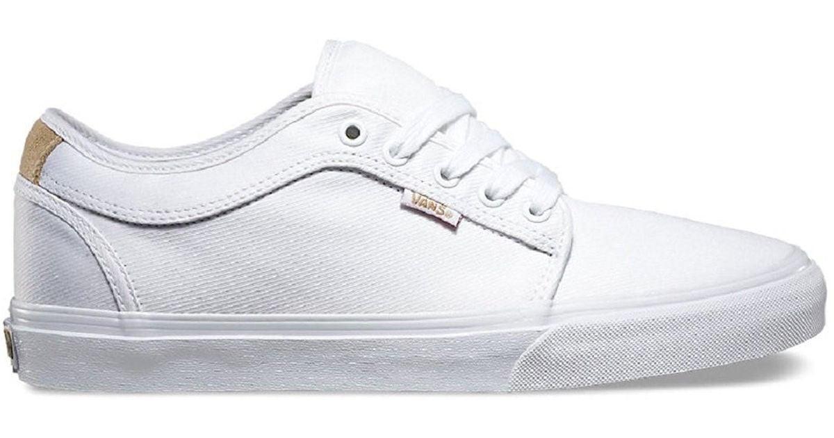 vans shoes men white