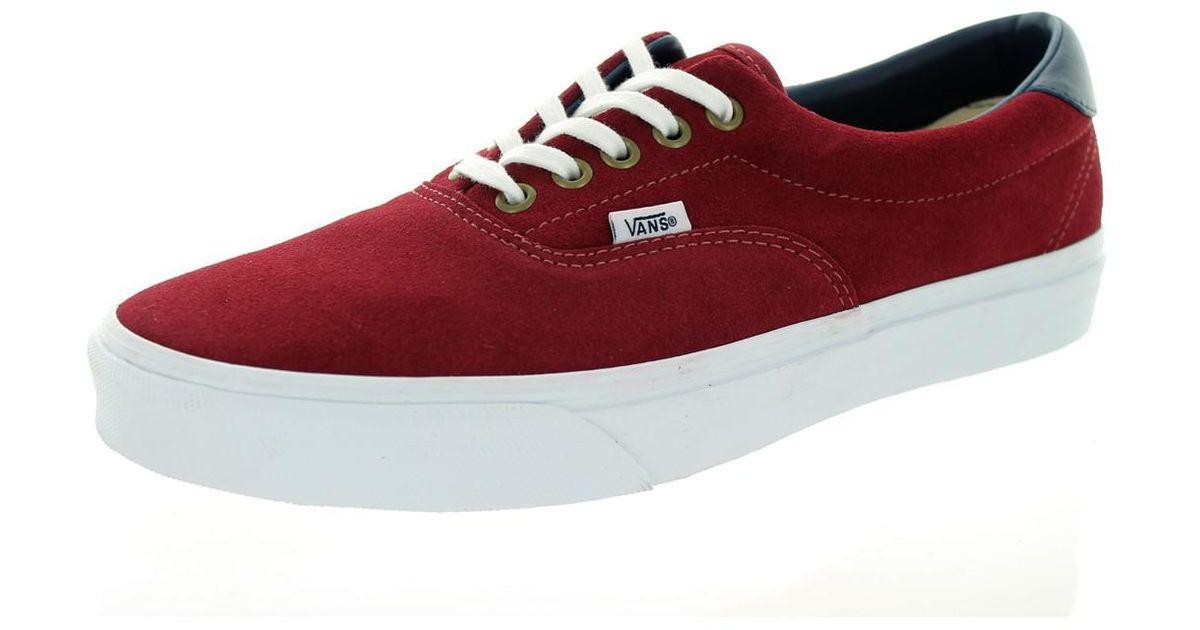 7cfafb495979 Lyst - Vans Unisex Era 59 Oxblood Red Skate Shoe 10 Men Us   11.5 Women Us  in Red