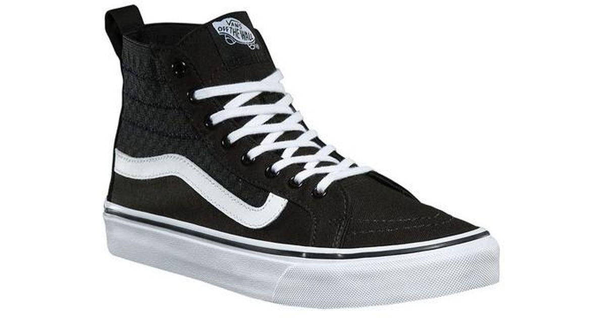 5283bd3741 Lyst - Vans Unisex Sk8-hi Slim Gore High Top in Black for Men