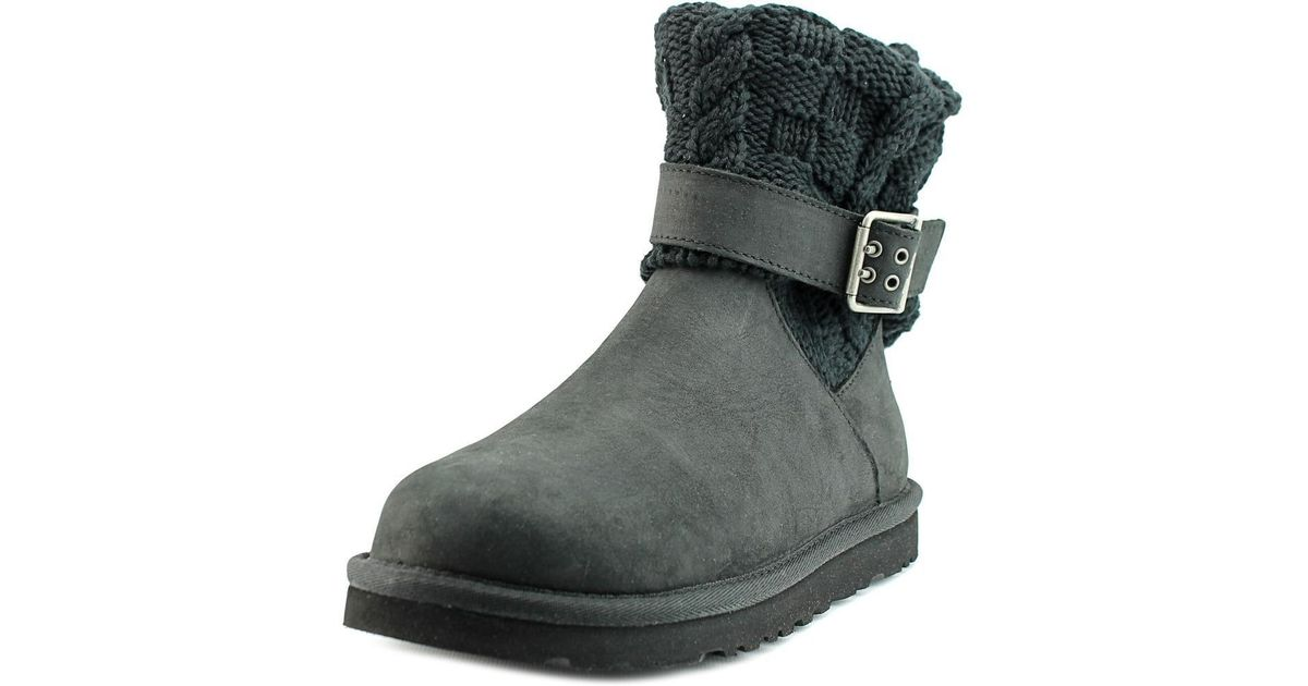 UGG Cassidee Boots in Black Lyst
