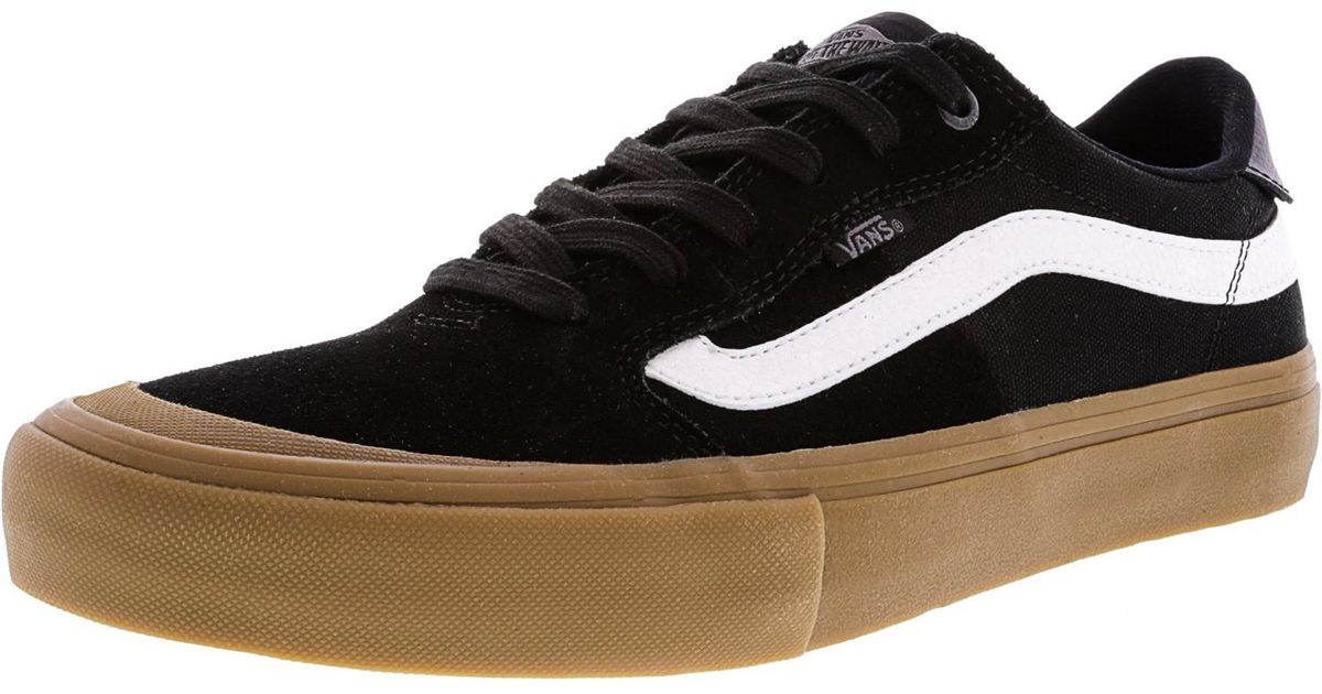 b987a433168d40 Lyst - Vans Style 112 Pro Black   White Gum Ankle-high Canvas Skateboarding  Shoe - 10.5m in Black for Men