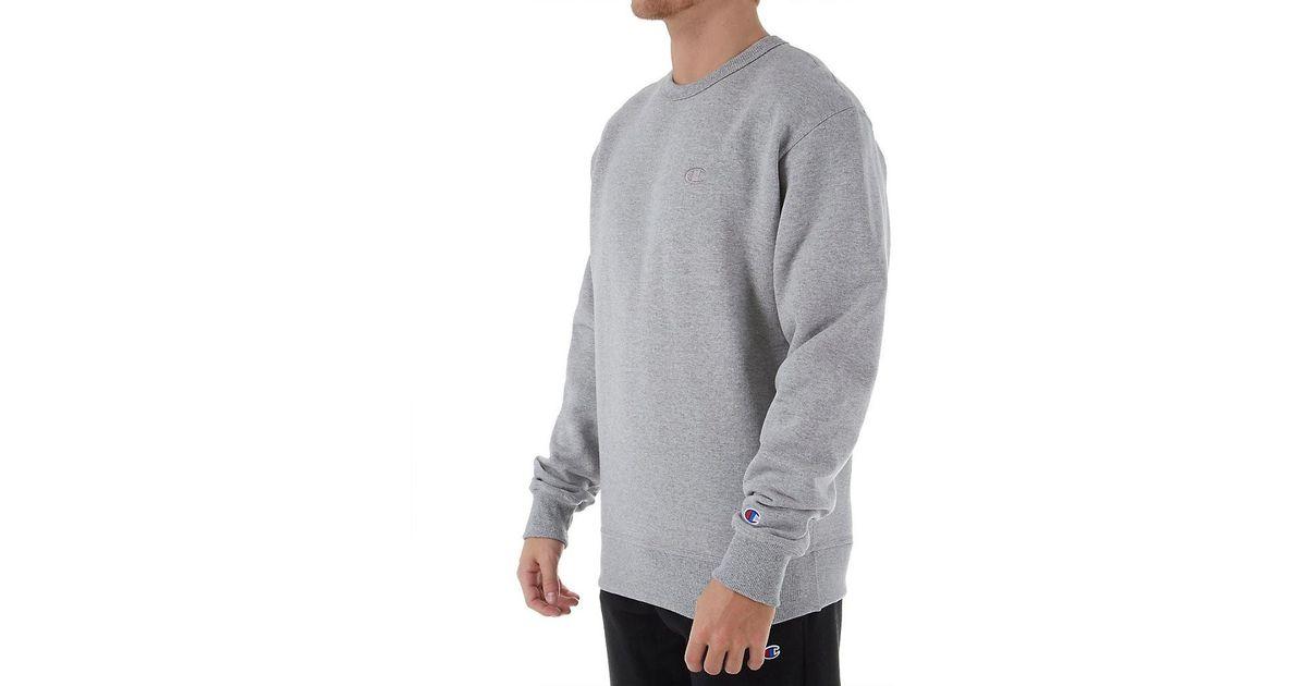 bd14613e6 Lyst - Champion S0888 Powerblend Fleece Crewneck Sweatshirt (oxford ...