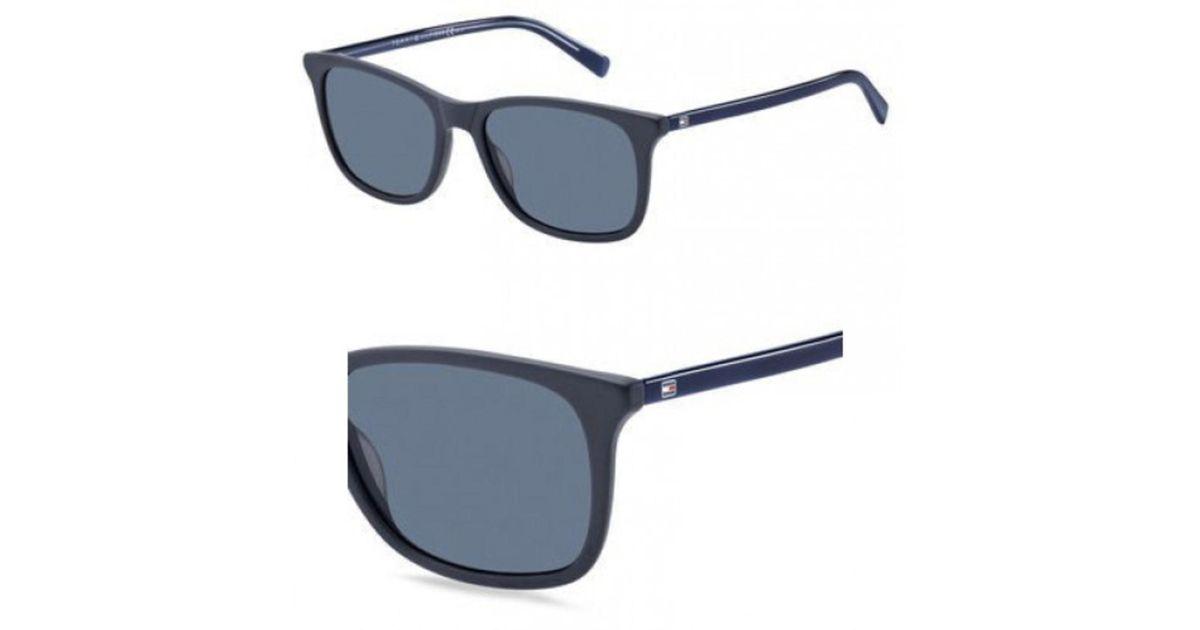 4cbf95513f634 Lyst - Tommy Hilfiger Sunglasses T hilfiger 1449  s 0acb Blue   Ku Blue Avio  Lens in Blue