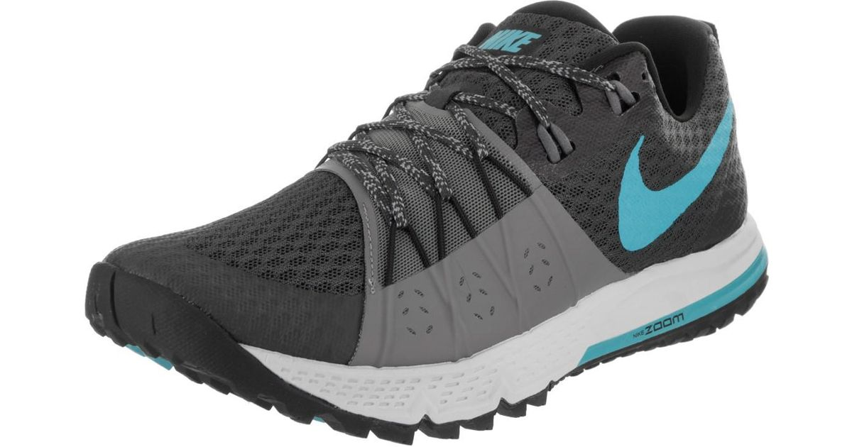 b40c100974e Lyst - Nike Air Zoom Wildhorse 4 Anthracite blue Fury cool Grey Running Shoe  8.5 Men Us in Gray
