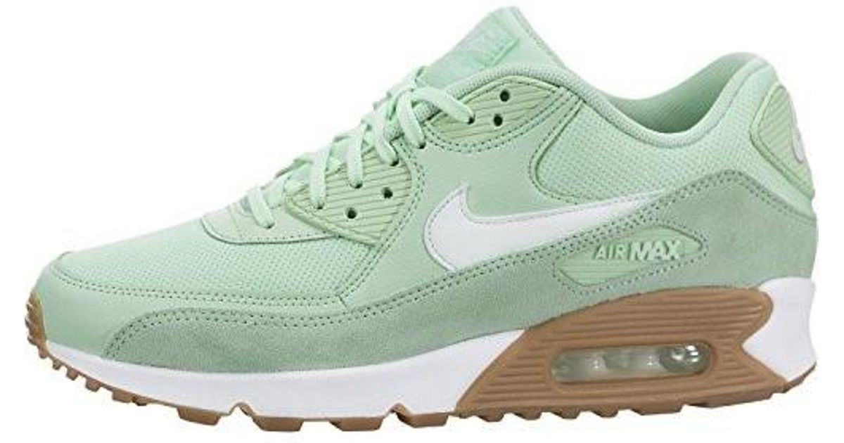 f9cd312ac936 ... discount code for lyst nike air max 90 running shoe fresh mint barely  gum light brown