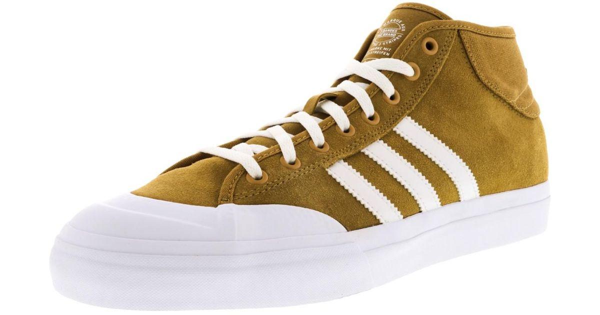 880e05eac4d Lyst - Adidas Matchcourt Mid Adv Mesa   Footwear White Ankle-high Skateboarding  Shoe - 9.5m in White for Men