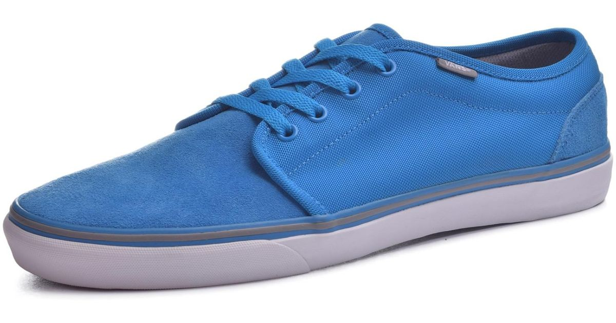 Lyst - Vans Mens Lxvi 106 Vulcanized Mlx Sneakers Lightbluecharcoal 12 in  Blue for Men 4bda57f7c