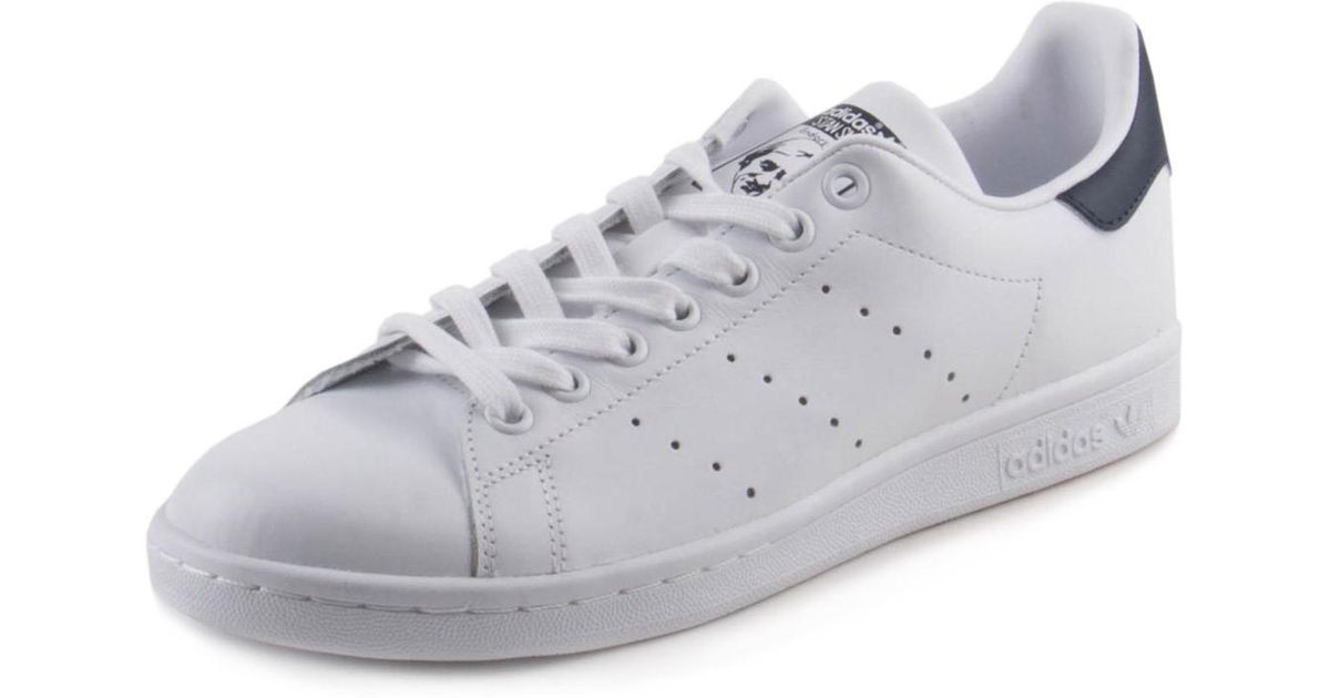 best loved 62f87 42e5b Adidas Originals - S81020: Originals Stan Smith White/white/collegiate Navy  Sneakers (10 B(m) Us Womens - Lyst