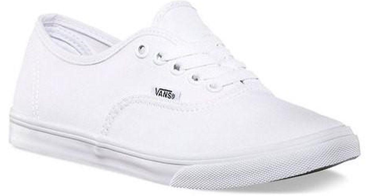 Lyst - Vans Unisex Authentic Lo Pro Sneaker in White for Men 3a6687d07c
